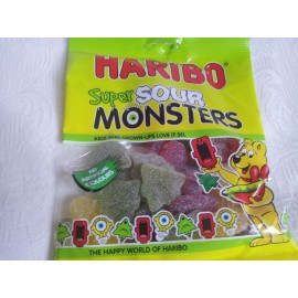 HARIBO SUPER SOUR MONSTERS