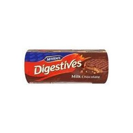 MC VITIES MILK CHOCOLATE DIGESTIVES 300G