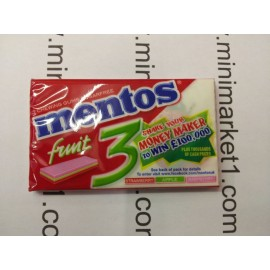 MENTOS 3 FRUITY FRESH