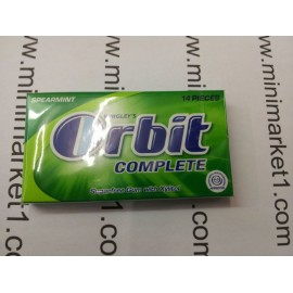 ORBIT COMPLETE SPEARMINT 14 PIECES
