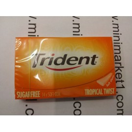 TRIDENT TROPICAL TWIST SUGARFREE
