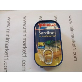 PRINCES SARDINES IN SUNFLOWER OIL