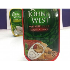 JOHN WEST MACKEREL FILLETS TOMATO SAUCE