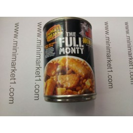 THE FULL MONTY BAKED BEANS & SAUSAGES 395G