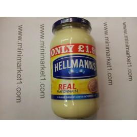 HELLMANN'S MAYONNAISE 200G JAR