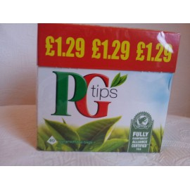 PG TIPS 40 TEABAGS