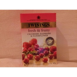 TWININGS FRESH & FRUITY
