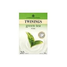 TWININGS GREEN TEA 20 TEA BAGS