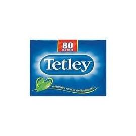 TETLEY 80 TEABAGS