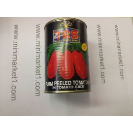 TRS PLUM PEELED TOMATOES 400G