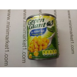 GREEN GIANT SWEET CORN NO ADDED SALT 198G