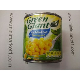 GREEN GIANT SWEET CORN NO ADDED SALT 340G
