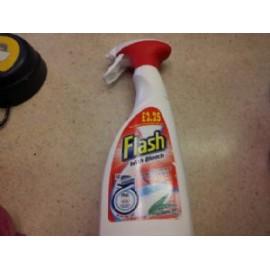 FLASH WITH BLEACH