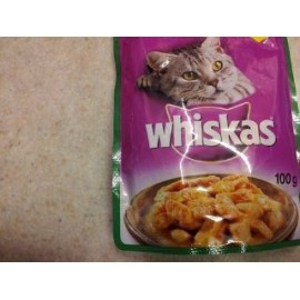 WHISKAS WITH RABBIT IN GRAVY 100G