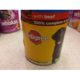 PEDIGREE WITH BEEF IN GRAVY
