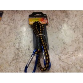 "24"" BUNGEE STRAP WITH CARABINER HOOK"