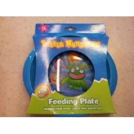 LITTLE MONSTERS FEEDING PLATE