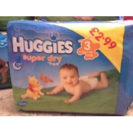 HUGGIES NAPPIES 3 (4-9KG)