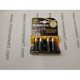 DURACELL PLUS AA 4PACK