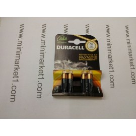 DURACELL PLUS AAA 4PACK