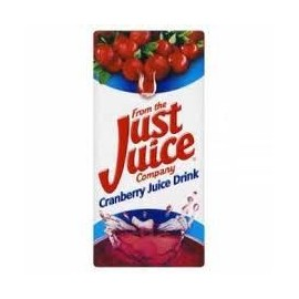 JUST JUICE CRANBERRY 1 LITRE