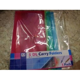 5DL CARRY FOLDERS